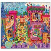 puzzle il castello djeco