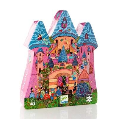 puzzle castello incantato